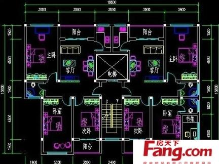 2018农村四层楼房设计图-房天下装修效果图图片