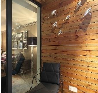 简约客厅卧室一体效果图大全