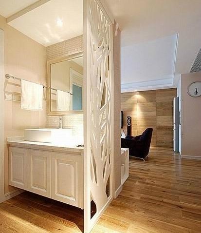 2013年欧式风格卧室隔断装修效果图大全展示图片