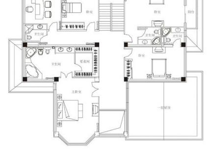 2013年农村别墅二层平面图纸-2017农村小户型别墅图片 房天下装修效