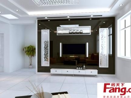 玻璃壁纸花纹电视墙图片