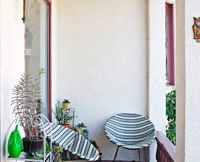 小阳台花园图片