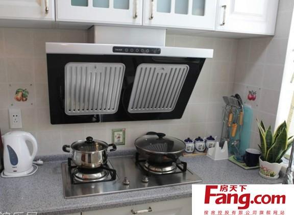 厨房灶台设计图 大理石台面