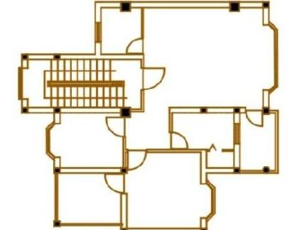 2013年四层独栋别墅平面设计图