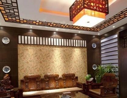 古典设计的中式实木家具图片