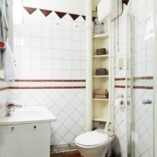 北欧风格的卫生间瓷砖贴图图片