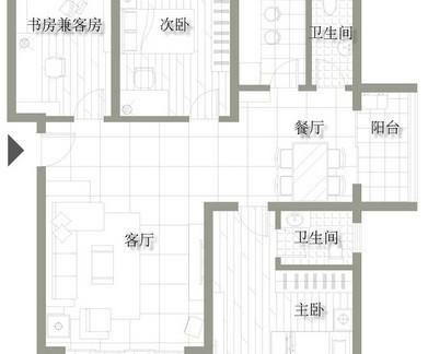2018农村小户型房子设计图 房天下装修效果图