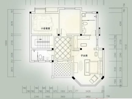 70平米两室一厅户型图-40平米一室一厅户型图