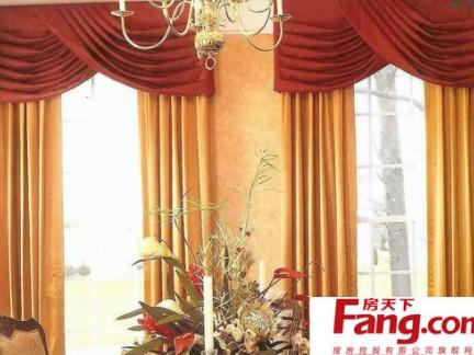2017今年最流行的窗帘图片 房天下装修效果图