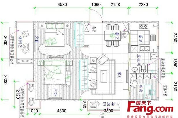 70平方房子设计图纸展示图片