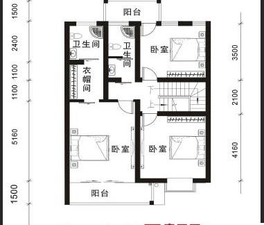 二层复式楼户型图图片