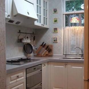 小户型厨房装修效果图大全2014图片-搜房网小户型厨房