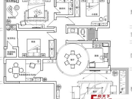 农村二层别墅设计户型图