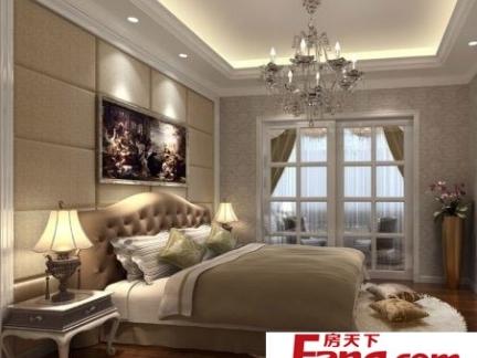 农村平房室内欧式卧室装修效果图