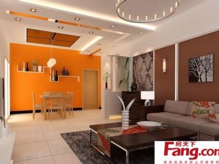 精美欧式风格卧室90平方房子设计图