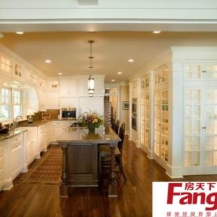 2013年最新的欧式风格厨房装修效果图大全欣赏图片