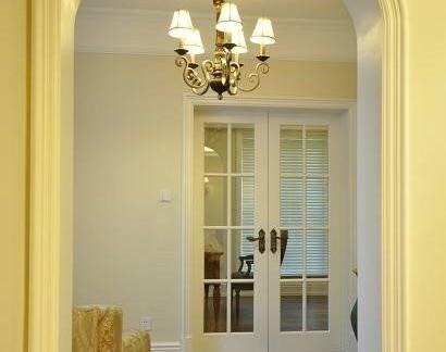 拱形门80平米两室一厅装修效果图-80平米一室一厅装修 房天下装修效