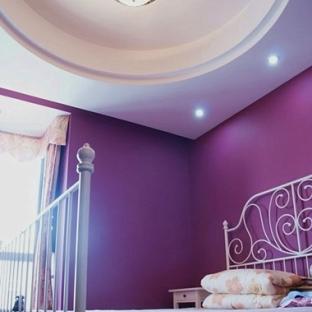 浪漫圆顶卧室吊顶效果图