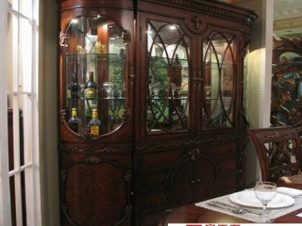 家庭餐厅酒柜效果图片欣赏