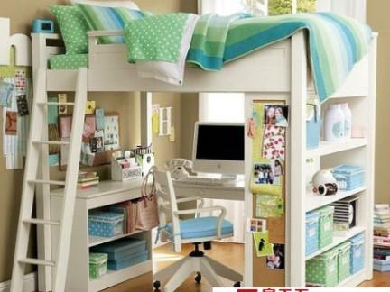 小户型空间利用儿童房装修图片