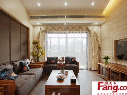 2017新中式家装设计效果图 房天下装修效果图图片