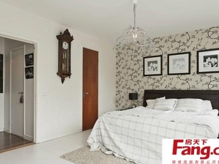 温馨可爱卧室壁纸效果图