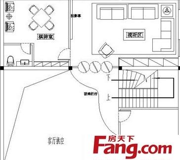 农村二层楼房平面室内设计图纸-2018室内楼房设计平面图 房天下装修图片