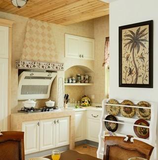 敞开式厨房效果图厨房装饰