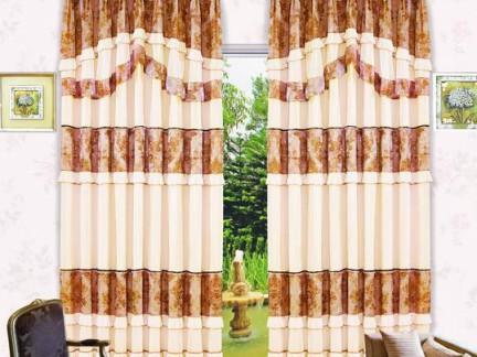 2017最流行的窗帘图片集锦 房天下装修效果图