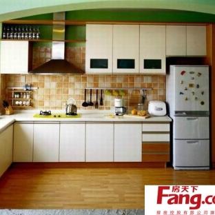 2013年简约欧式风格厨房装修效果图大全欣赏