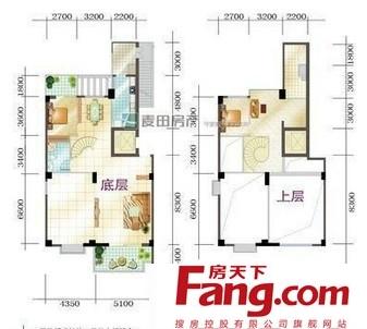 室内楼中楼户型设计图图片