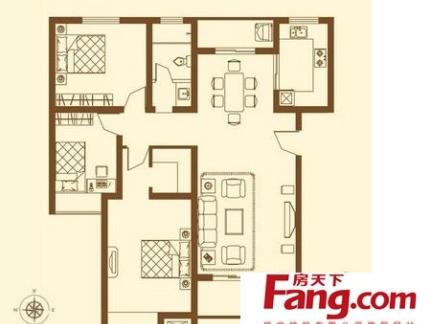 120平方房子设计图赏析-50平方房子装修设计图