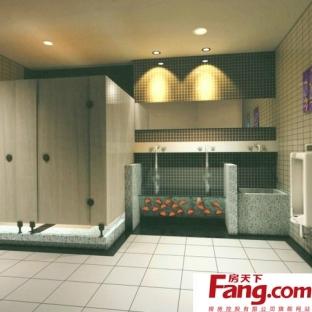 马赛克公共厕所装修效果图片图片