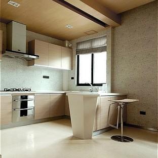 小户型现代主义厨房装修效果图大全2012图片