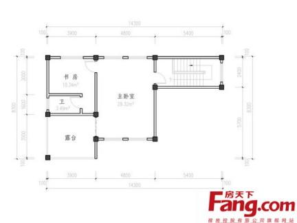 90平方房子设计图平面图赏析图片