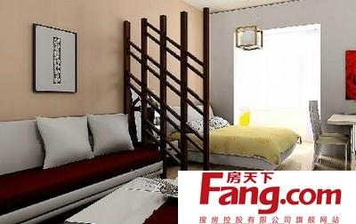 2010客厅隔卧室效果图