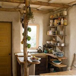 小型厨房收纳柜设计图