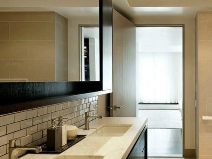 中式洗手间装修效果图图片