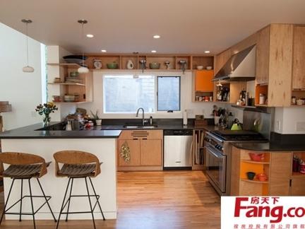 禅木厨房装修效果图大全2013图片图片