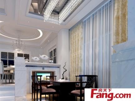 古典风格卧室90平方房子设计图