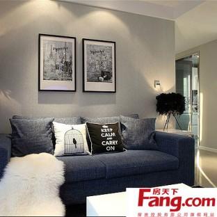 小户型欧式客厅背景墙装修图片图片
