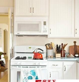 2017北欧风格小厨房橱柜及吧台装修效果图 房天下装修效果图