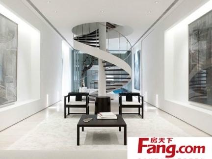 室外旋转楼梯施工图片大全