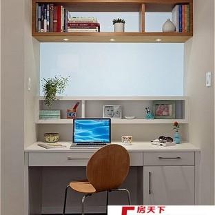 小书房时尚中式书桌装修效果图大全2012图片图片