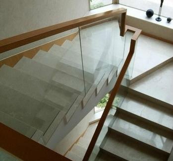 2017二层楼房楼梯设计效果图 房天下装修效果图