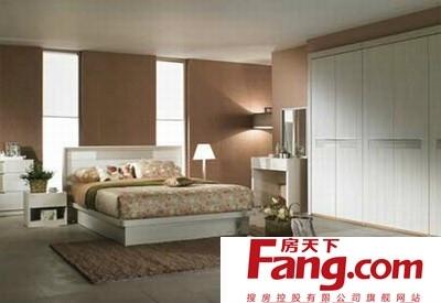 美式卧室地板砖效果图图片