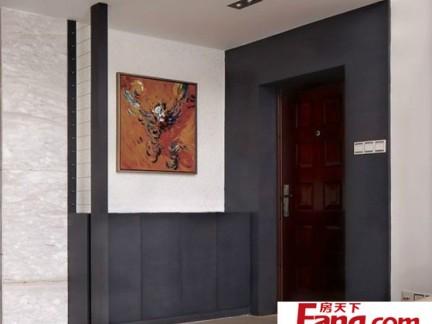 新中式风格入户玄关装修效果图图片