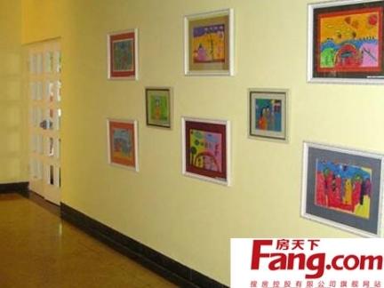 幼儿园走廊墙壁布置图片