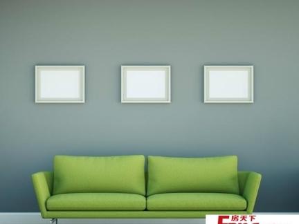 欧式复古花纹沙发背景墙装修效果图大全2012图片