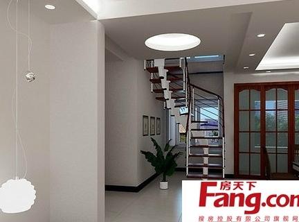 客厅小阁楼楼梯装修效果图